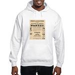James Younger Gang Wanted Hooded Sweatshirt