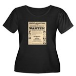 James Younger Gang Wanted Women's Plus Size Scoop