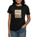 James Younger Gang Wanted Women's Dark T-Shirt