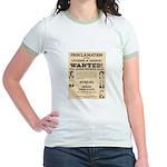 James Younger Gang Wanted Jr. Ringer T-Shirt