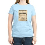James Younger Gang Wanted Women's Light T-Shirt