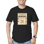 James Younger Gang Wanted Men's Fitted T-Shirt (da