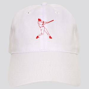Red Baseball Swing Cap