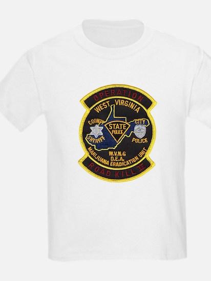 West Virginia Narcs Kids T-Shirt