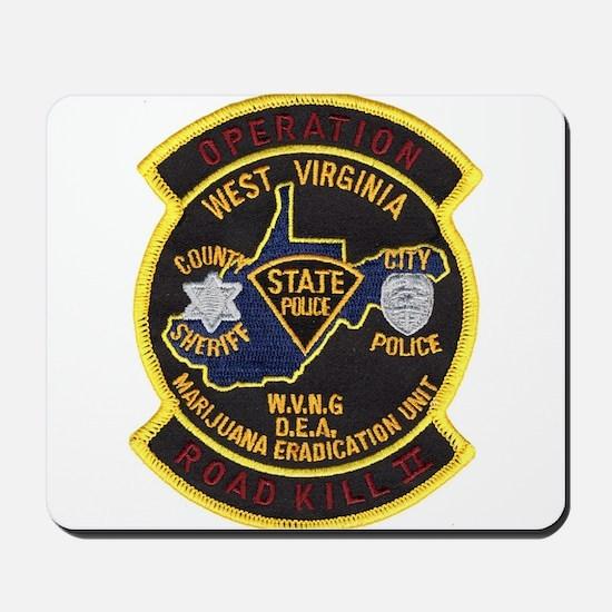 West Virginia Narcs Mousepad