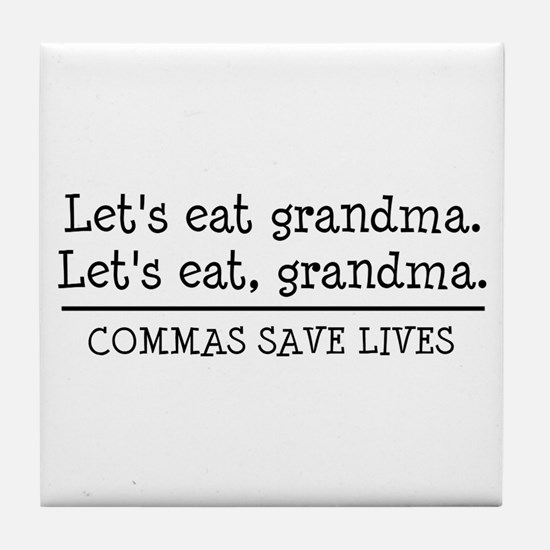 Unique Grandmas Tile Coaster