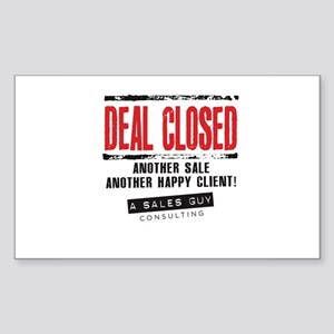 Deal Closed Sticker (Rectangle)