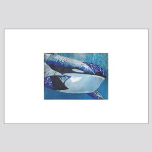 Whales- God's Creatures Large Poster