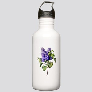 Lilac Drawn From Nature Stainless Water Bottle 1.0