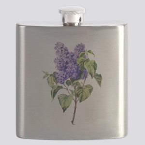 Lilac Drawn From Nature Flask