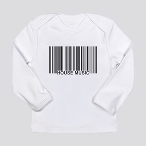 House Music Barcode Long Sleeve Infant T-Shirt