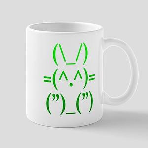 Ascii Rabbit Mug