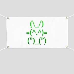 Ascii Rabbit Banner