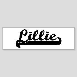 Black jersey: Lillie Bumper Sticker