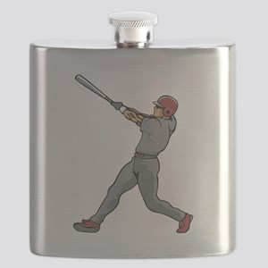 Left Handed Batter Flask