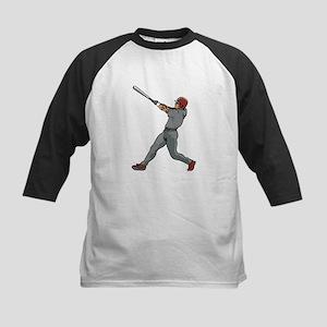 Left Handed Batter Kids Baseball Jersey