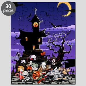 Kids Halloweening Puzzle