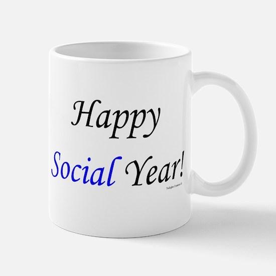 Happy Social Year Mug