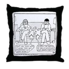 Good Book Problem - Throw Pillow