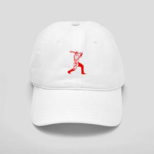 Red Base Hit Cap