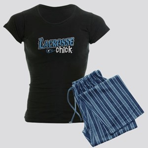 Lacrosse Chick Women's Dark Pajamas