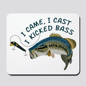 I Kicked Bass Mousepad