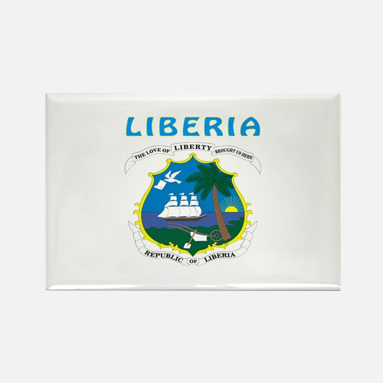 Liberia Coat of arms Rectangle Magnet