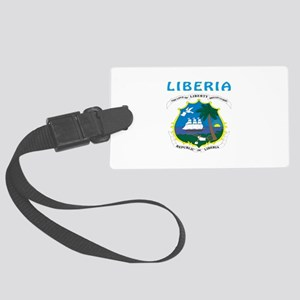 Liberia Coat of arms Large Luggage Tag