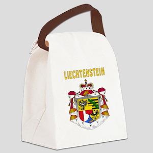Liechtenstein Coat of arms Canvas Lunch Bag