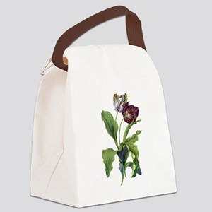 Tulips Drawn From Nature Canvas Lunch Bag