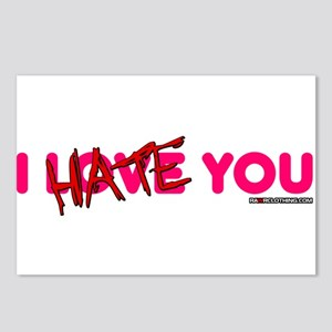 I Hate You Postcards (Package of 8)
