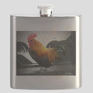 Bantam Rooster Flask