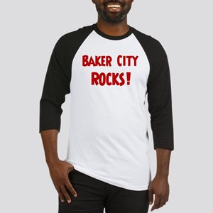 Baker City Rocks Baseball Jersey