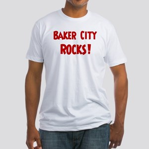 Baker City Rocks Fitted T-Shirt