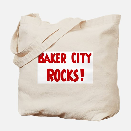 Baker City Rocks Tote Bag