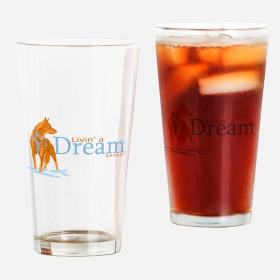 Livin' a Dream Drinking Glass