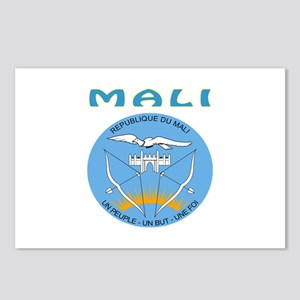Mali Coat of arms Postcards (Package of 8)