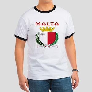 Malta Coat of arms Ringer T