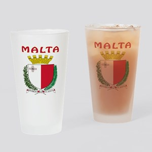 Malta Coat of arms Drinking Glass