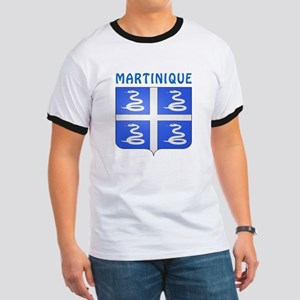 Martinique Coat of arms Ringer T