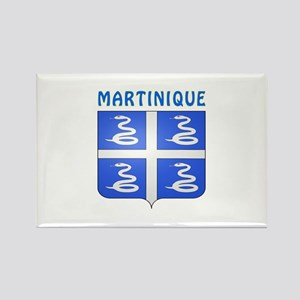 Martinique Coat of arms Rectangle Magnet