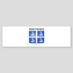 Martinique Coat of arms Sticker (Bumper)