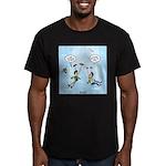 Pair-a-Shoes vs. Parachute Men's Fitted T-Shirt (d