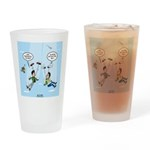 Pair-a-Shoes vs. Parachute Drinking Glass