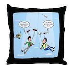 Pair-a-Shoes vs. Parachute Throw Pillow