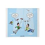 Pair-a-Shoes vs. Parachute Throw Blanket