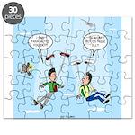 Pair-a-Shoes vs. Parachute Puzzle