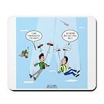 Pair-a-Shoes vs. Parachute Mousepad