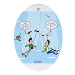 Pair-a-Shoes vs. Parachute Ornament (Oval)