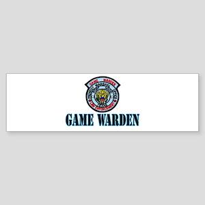 Fort Hood Game Warden Bumper Sticker